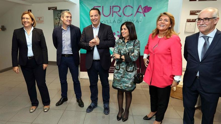 Diferentes autoridades políticas en la inauguración de las segundas jornadas de 'Surca'