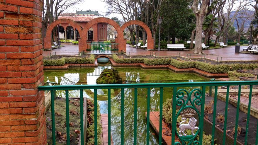 El parque de la Media Luna, uno de los diseños de Víctor Eusa.