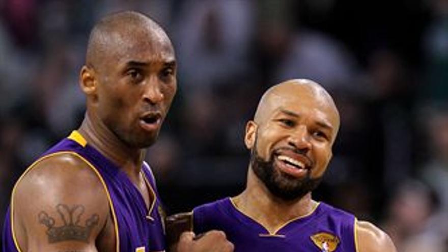 Los Lakers, de nuevo por delante. (EUROPA PRESS)