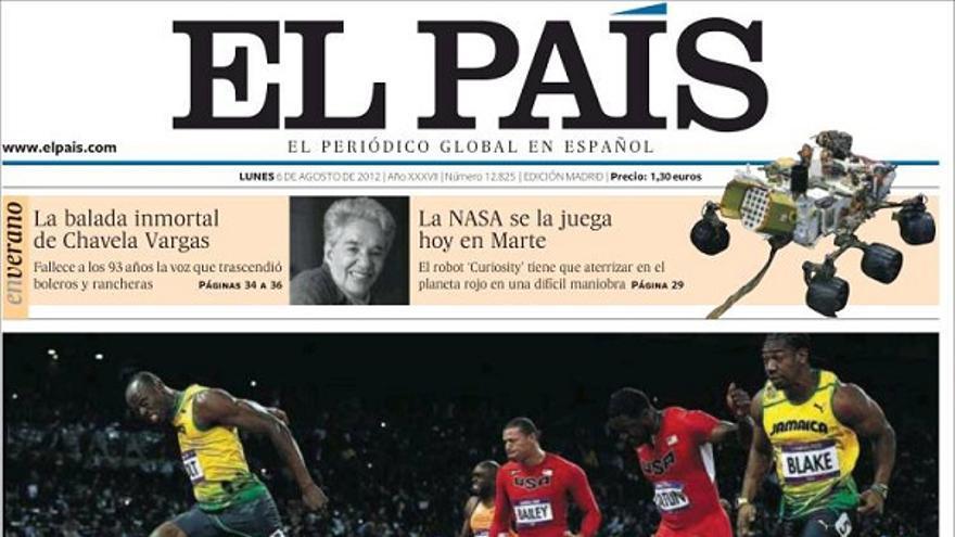 De las portadas del día (06/08/2012) #6