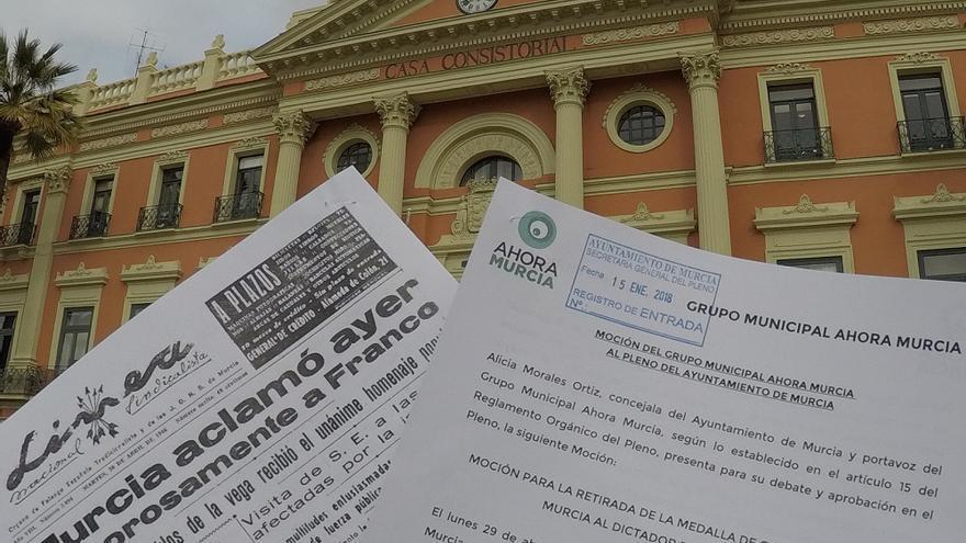 Moción retirada Medalla de Oro a Francisco Francos (Murcia)