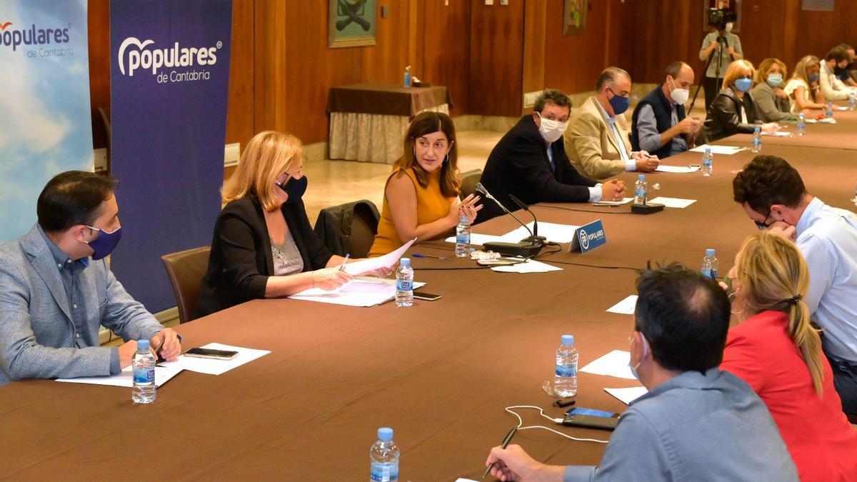 Comité Ejecutivo Regional del PP de Cantabria.
