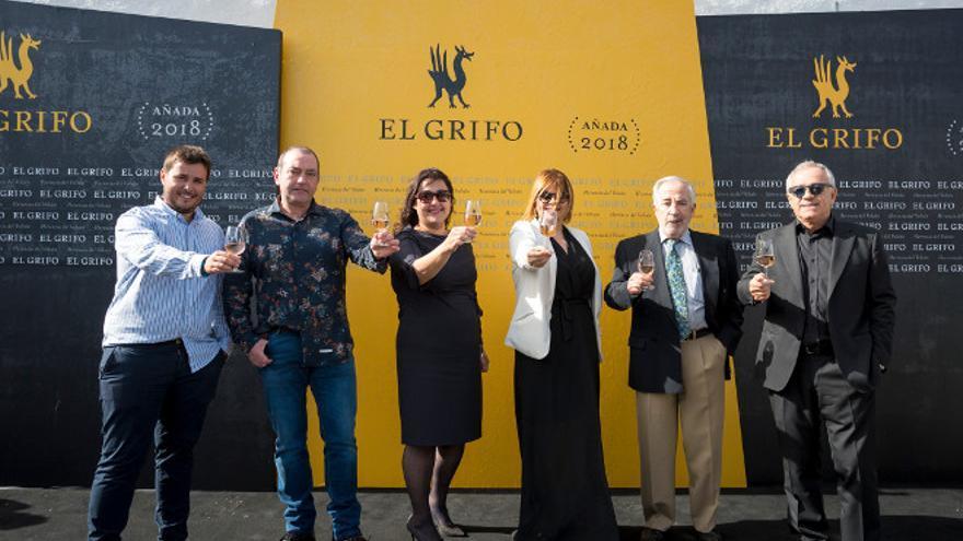 Presentación del vino vijariego en 'El Grifo'