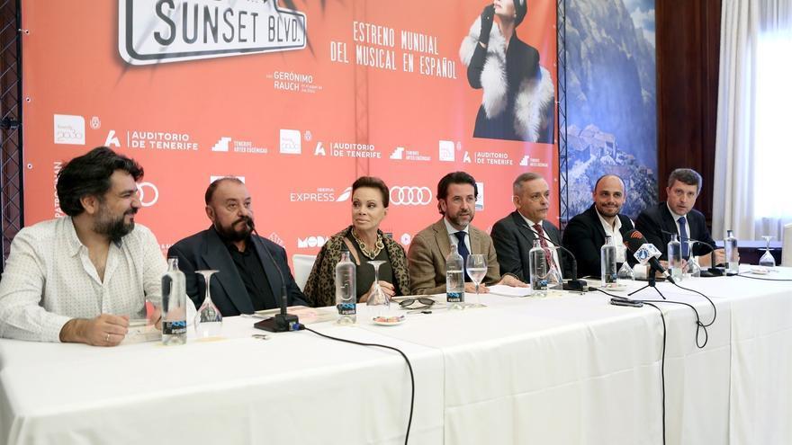 Presentación del musical 'Sunset Boulevard' este jueves en Santa Cruz, con Paloma San Basilio