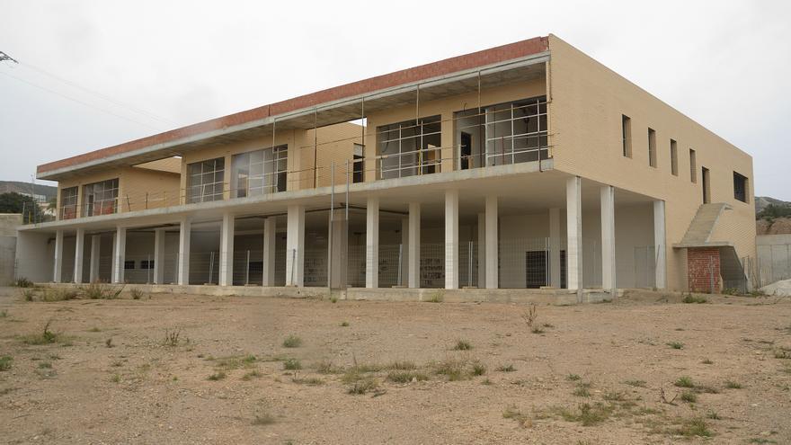 Centro de emergencias sin terminar en Puerto Lumbreras, Murcia/ Miguel Aznar