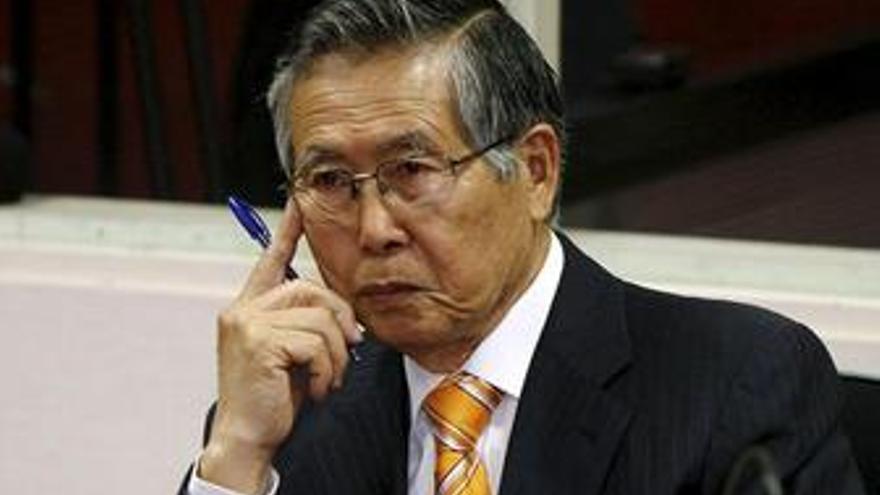 Fujimori, condenado a seis años de prisión por los delitos de corrupción y las escuchas ilegales