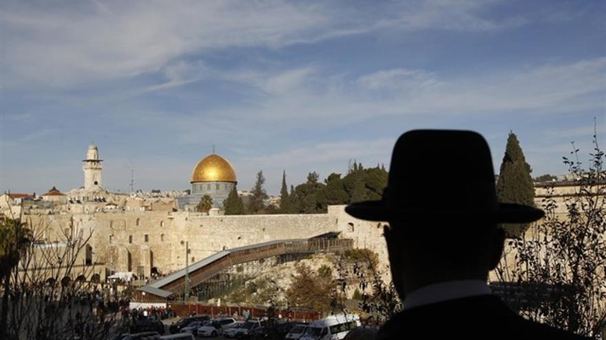 La Mezquita de Al-Aqsa en Jerusalén en una foto de archivo