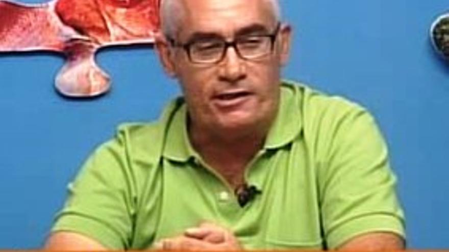 Álvaro Martín Corujo es secretario insular del STC-IC.