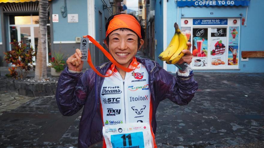 Yuri Yoshizumi fue la ganadora en la categoría femenina. Foto: JOSÉ AYUT.