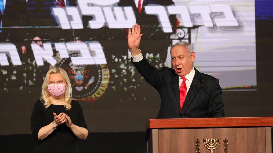 Netanyahu encabeza un lento recuento en Israel con el 28% de votos escrutados