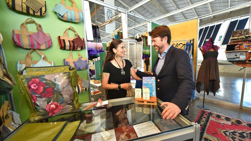 Un total de 140 artesanos participan en la 31ª Feria de Artesanía de Canarias