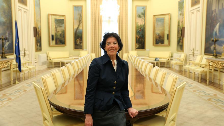 La portavoz del Gobierno y ministra de Educación y Formación Profesional, Isabel Celáa.