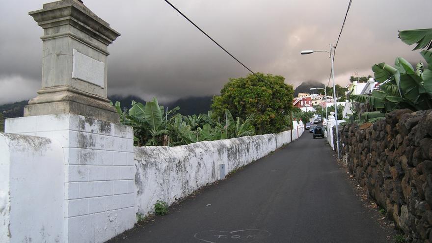 Vía de El Planto.