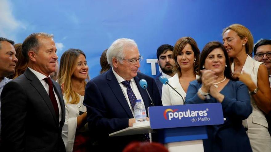 PP: Imbroda es el presidente legal de Melilla, De Castro fue en fraude de ley