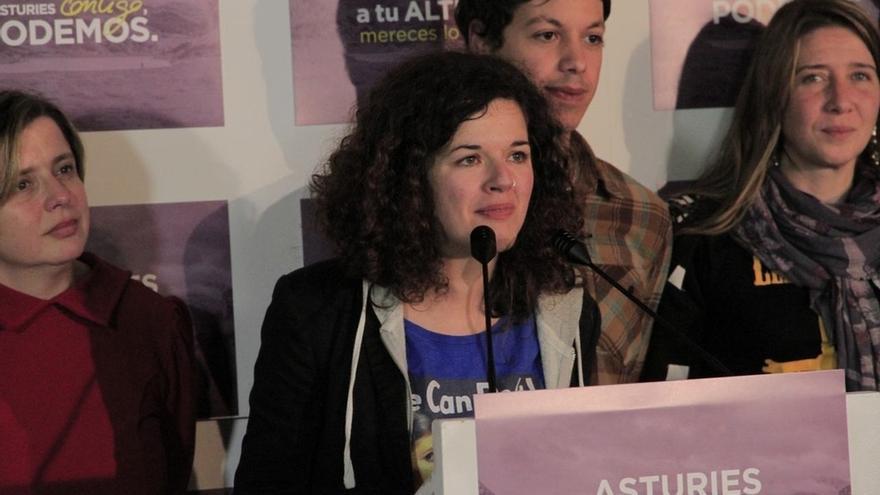Castañón (Podemos) defiende el movimiento feminista como ejemplo para impulsar medidas de igualdad real