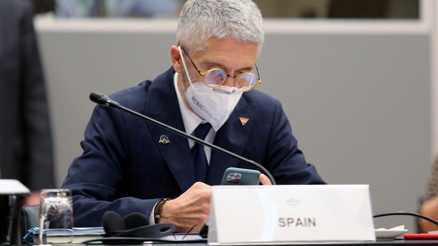 Marlaska: Espero que el PP oiga a Europa y deje de tener secuestrado al CGPJ