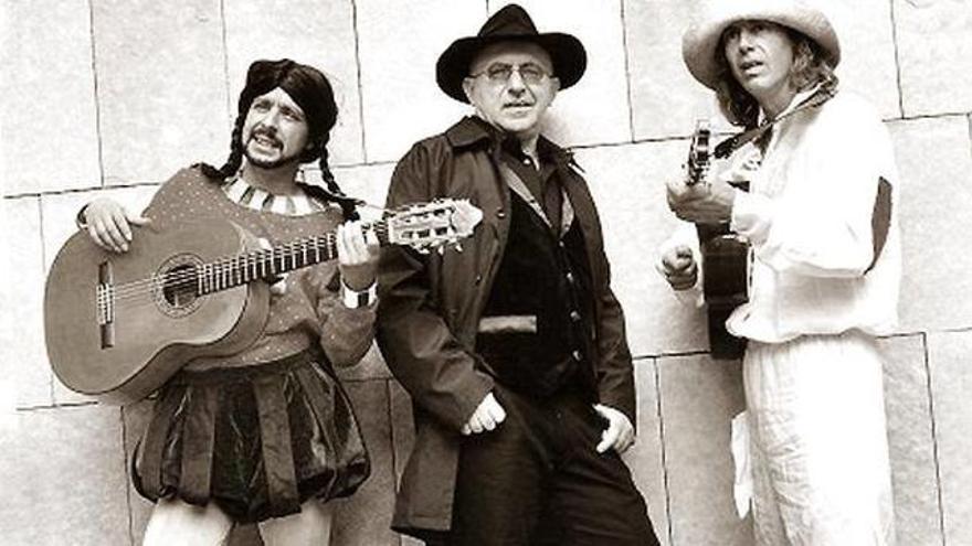 El Trío Zapatista en una imagen de archivo.