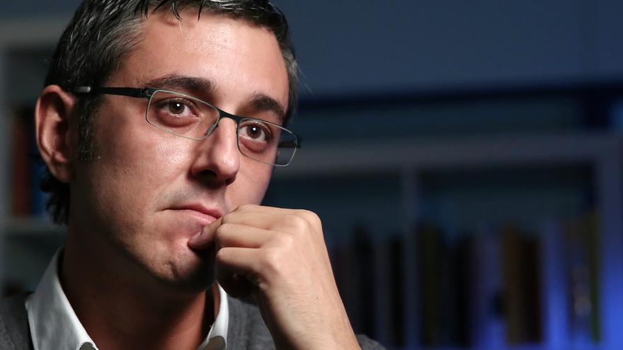 El diputado del PSOE, Eduardo Madina, durante su entrevista en eldiario.es