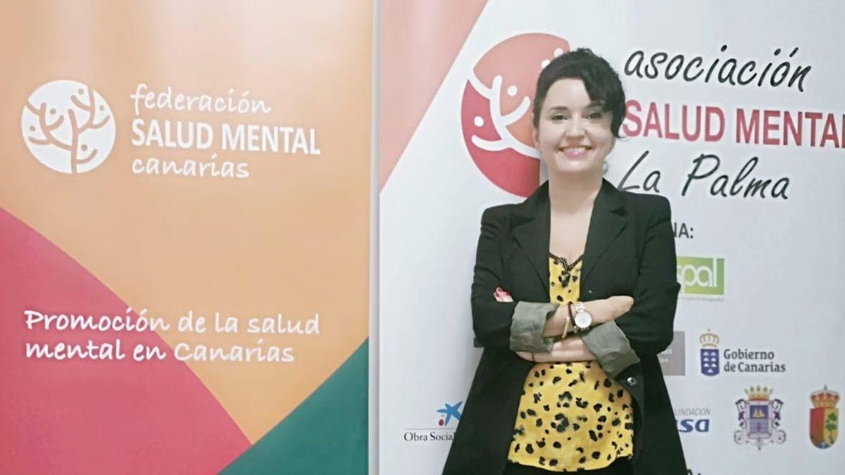 María de la Paz Magdalena es responsable de Salud Mental La Palma.