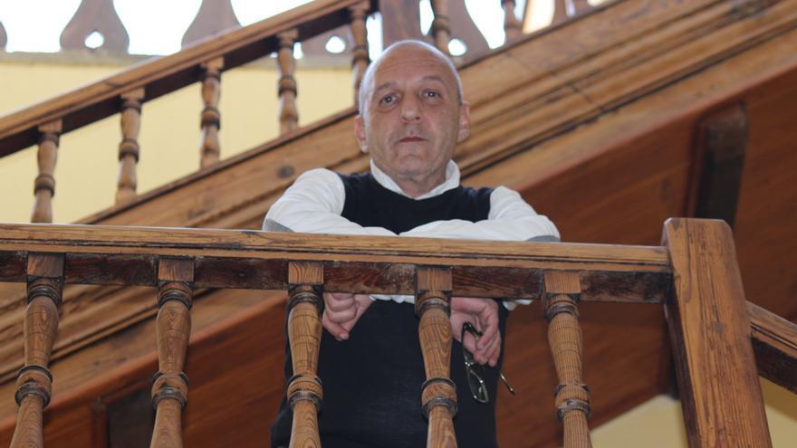 José García. Diseñador de moda grancanario. Foto: Cirenia Vico