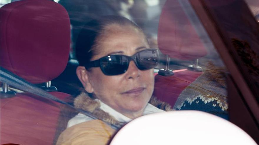Isabel Pantoja vuelve a la cárcel tras un permiso ordinario de seis días