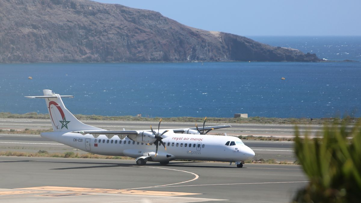 Avión de la compañía Royal Air Maroc.