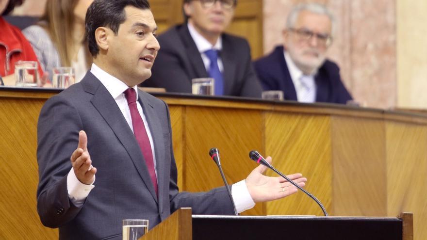 Moreno (PP), investido presidente de la Junta de Andalucía en primera votación gracias a los votos de Cs y Vox