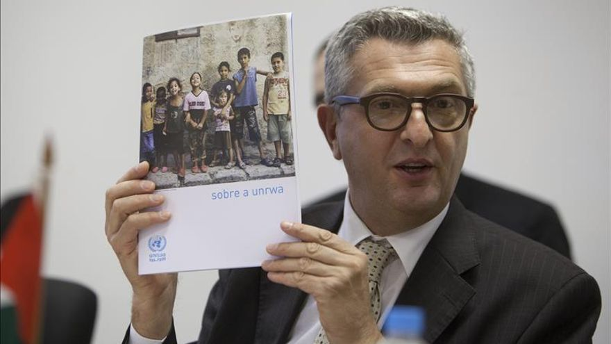 Italiano Filippo Grandi, propuesto por Ban Ki-moon para ser titular de ACNUR