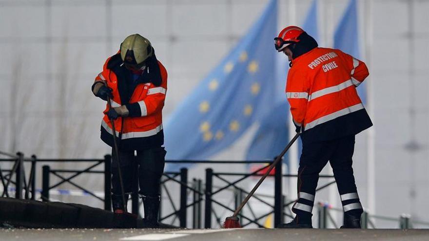 Se reanuda en Bruselas parte el transporte público pero no el del aeropuerto