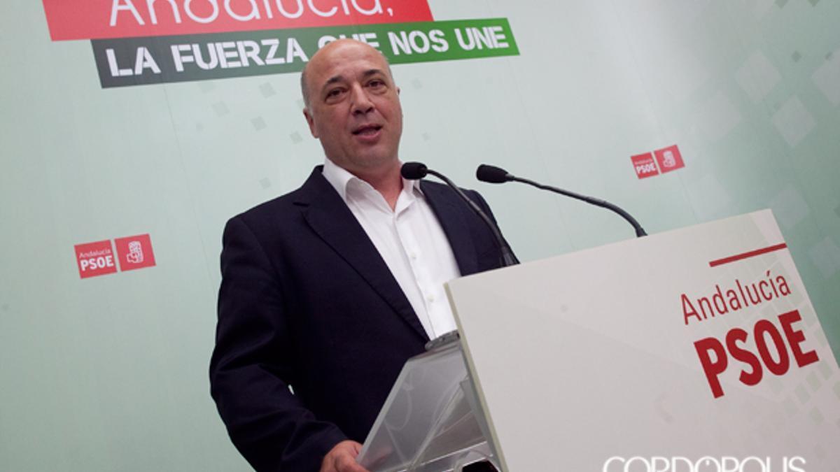 Antonio Ruiz, secretario de Organización del PSOE en Córdoba