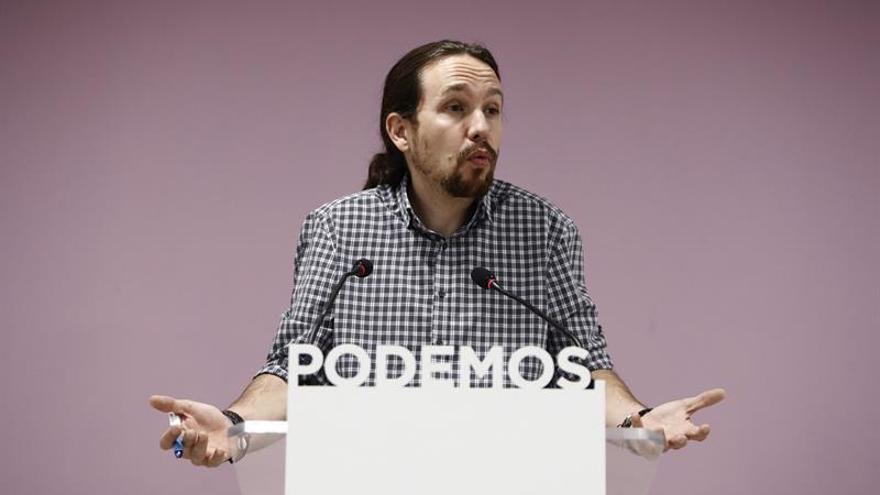 Iglesias buscará acuerdos en el modelo político para integrar a Errejón