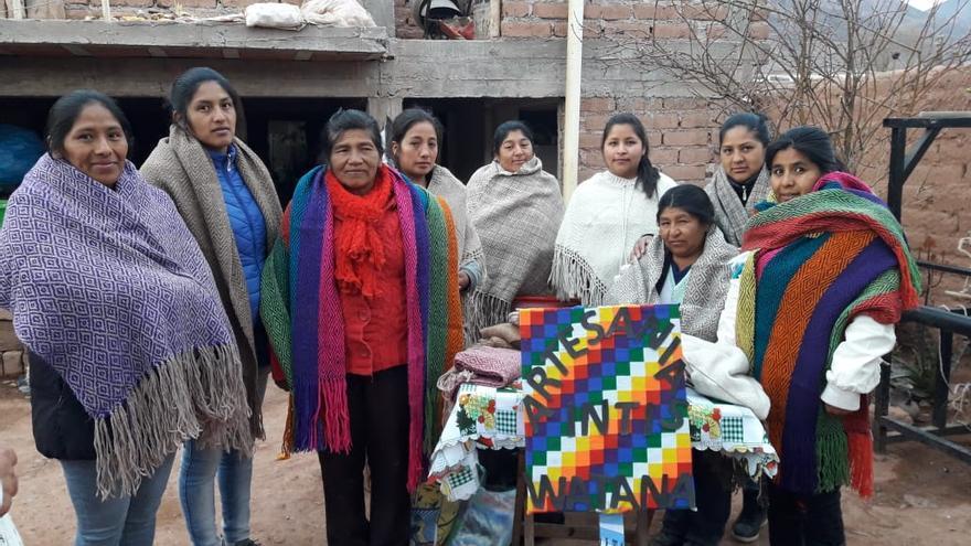 El grupo de mujeres 'Inti Watana'.