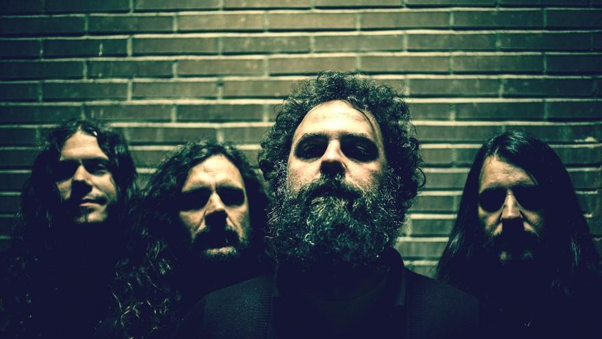 Integrantes de la banda  madrileña Adrift.