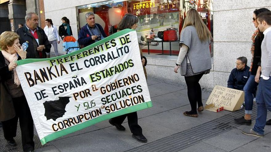 Unos 29.000 clientes de Bankia han pedido ya el arbitraje por las preferentes