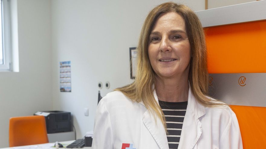 Coral Moltalbán, jefe de sección del Servicio de Endocrinología y Nutrición del Hospital Marqués de Valdecilla.   COLEGIO DE MÉDICOS
