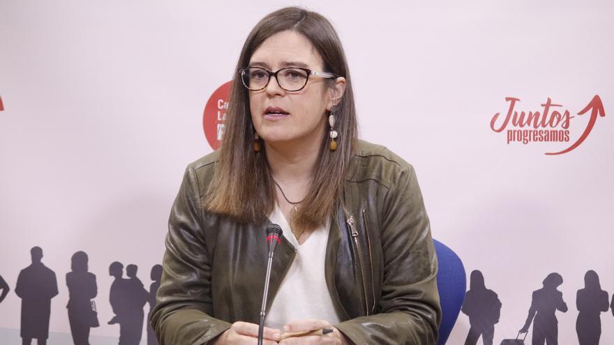 La diputada nacional del PSOE Esther Padilla