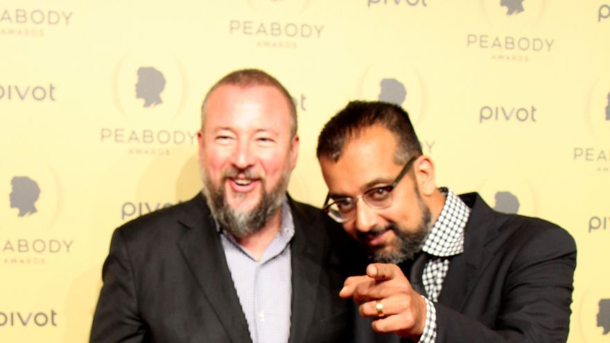 Shane Smith y Suroosh Alv, fundadores de Vice Magazine