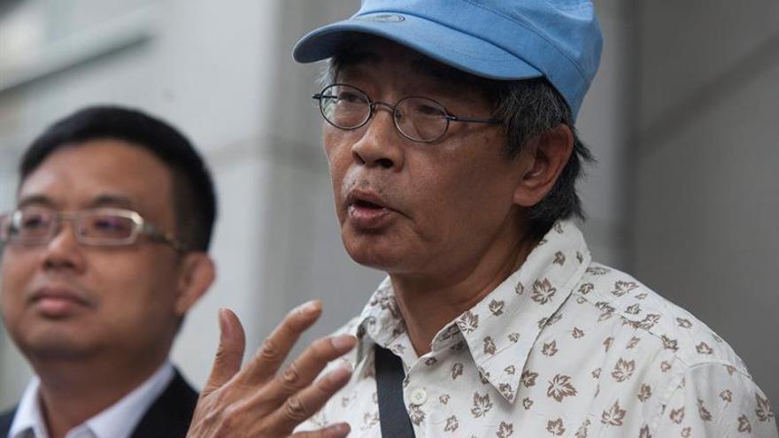 Librero de Hong Kong no participa en las protestas contra China por amenazas