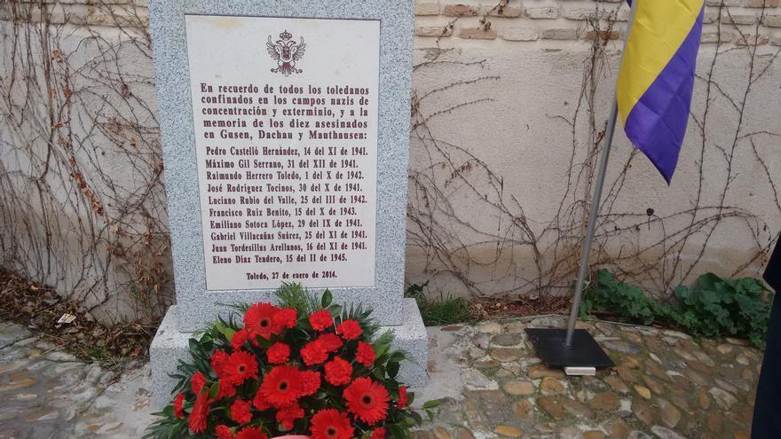 Día del holocausto. Acto en Toledo.