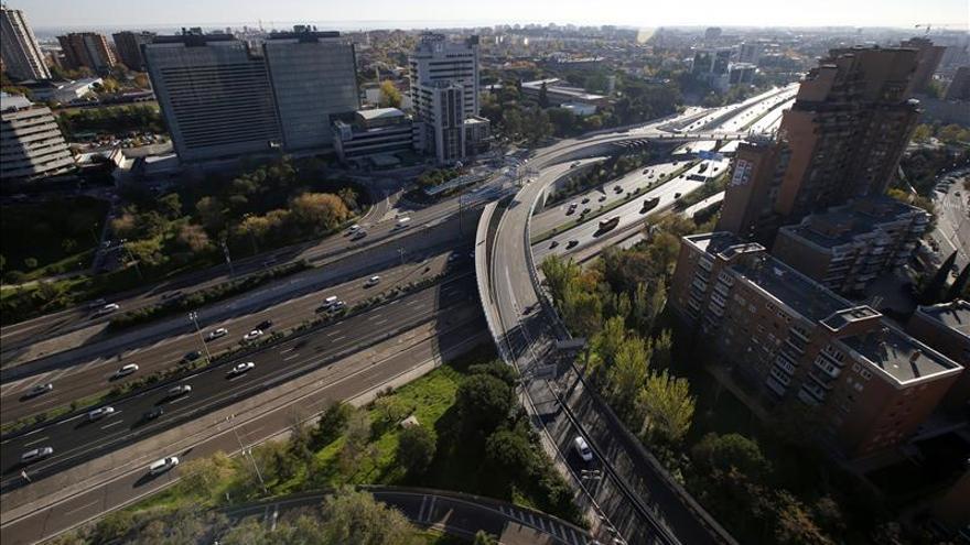 Segunda jornada de fluidez en la M-30 y menos tráfico en el sur de Madrid