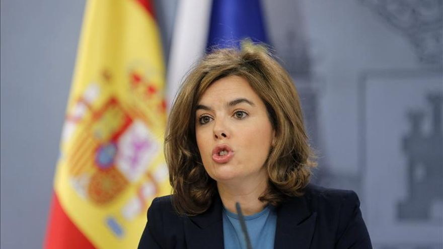 """Sáenz de Santamaría asegura que """"España es ahora el modelo a seguir"""""""
