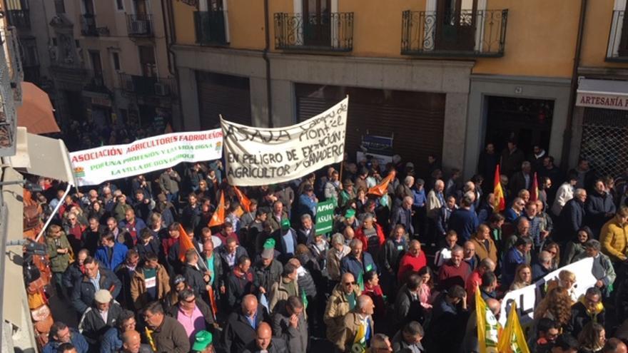 La manifestación ha llegado hasta Zocodover