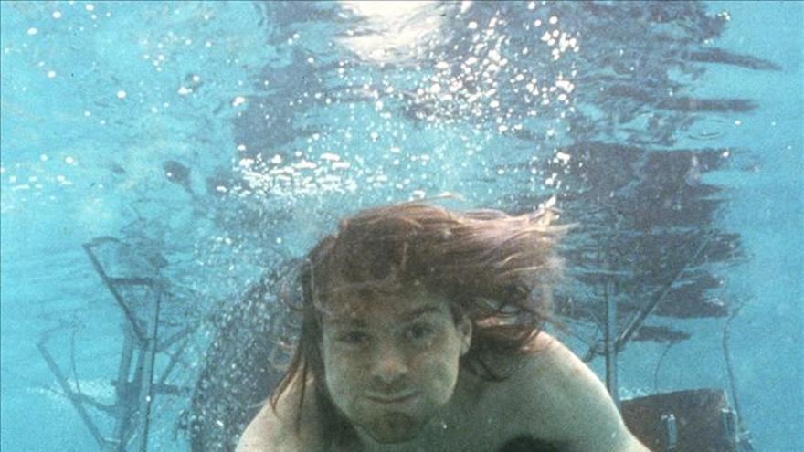 Sesión de fotos para el disco 'Nevermind' de Nirvana