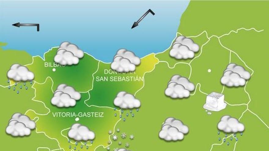 Previsiones meteorológicas del País Vasco para mañana, día 21