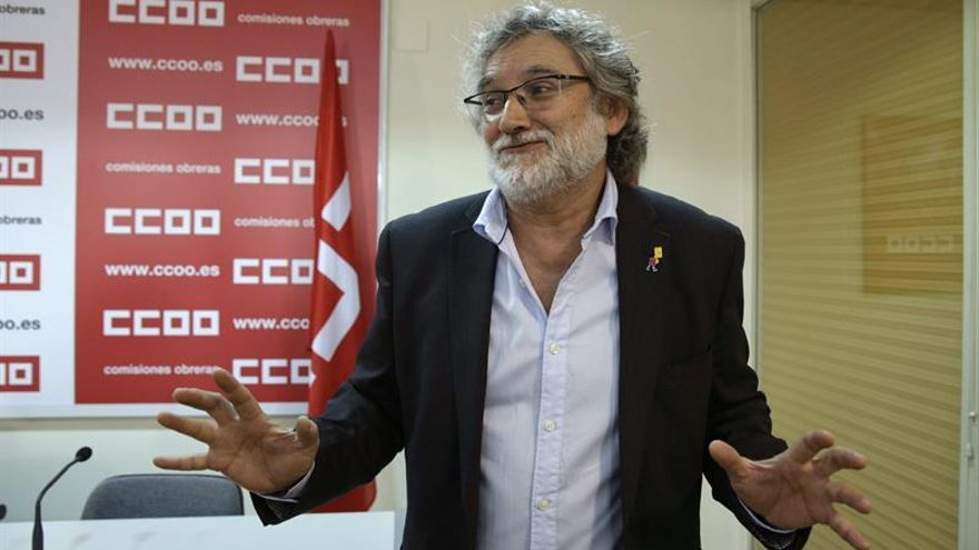 """UGT y CCOO anuncian un proceso de movilizaciones """"dilatado y creciente"""""""