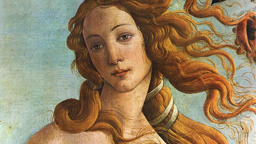 'El Nacimiento de Venus', de Botticelli