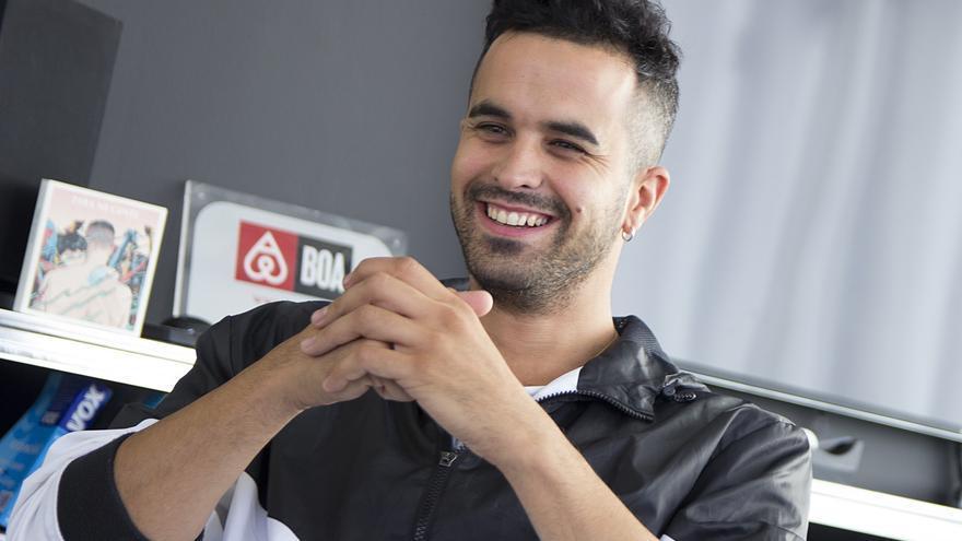 Shotta durante la entrevista con eldiario.es