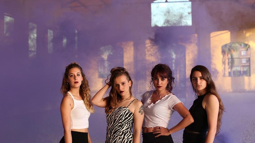 Maluks, el grup valencià format per Maria, Núria, Marina i Laura.