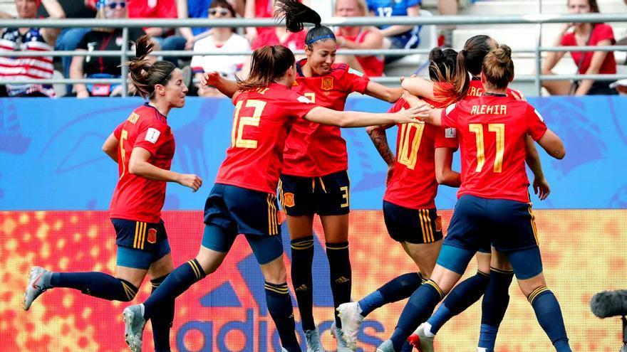 España-Estados Unidos en el Mundial