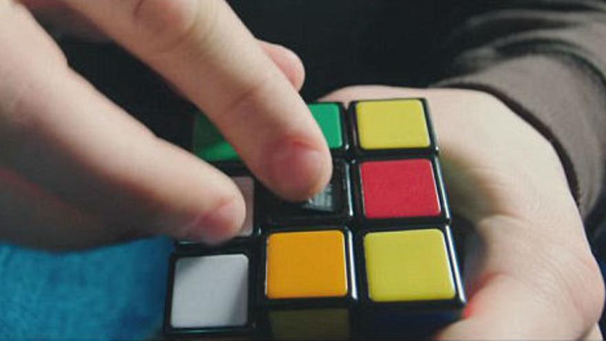 El cubo de Rubik en Snowden